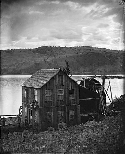 Tranquille Mills, Kamloops Lake, BC, 1871