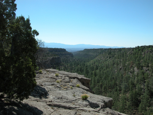 View from Deertrap Mesa